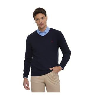 SIR RAYMOND TAILOR - Pullover Guadix - Marinblau