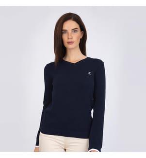 SIR RAYMOND TAILOR - Pullover Olivia - Marinblau