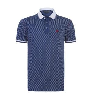 SIR RAYMOND TAILOR - Poloshirt Aran - Marinblau