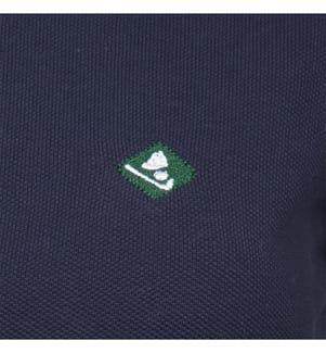 SIR RAYMOND TAILOR - Poloshirt Maura - Weiss und Marinblau