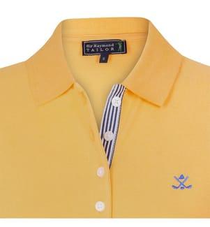 SIR RAYMOND TAILOR - Poloshirt - Dunkelgelb