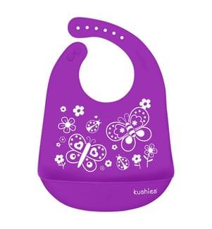 Lätzchen Kushies SiliCatch - Violett