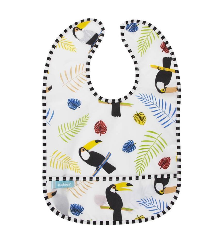 Lätzchen Kushies CleanBib - Weiss und Multicolor