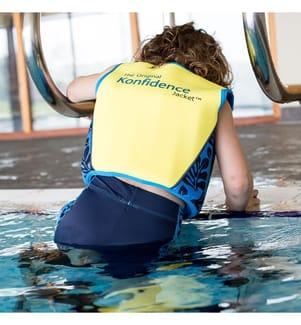 Schwimmlernweste 6-7 years - Blau und Marinblau