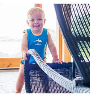 Baby-Neoprenanzug Babywarma Clownfisch - 0-6 Monate