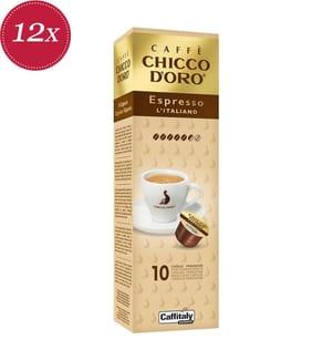 120 Kapseln Chicco d'Oro Espresso Italiano - Kompatibel mit dem Caffitaly® System