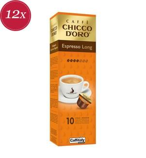 120 Kapseln Chicco d'Oro Espresso Long - Kompatibel mit dem Caffitaly® System