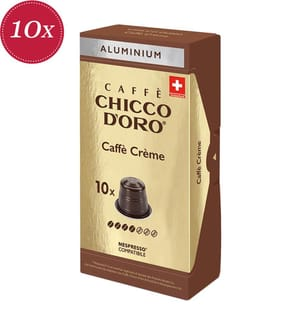 100 Kapseln Chicco d'Oro Caffè Crème - Kompatibel mit dem Nespresso® System
