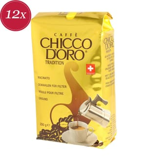 Chicco d'Oro Tradition gemahlen - 12x 250g