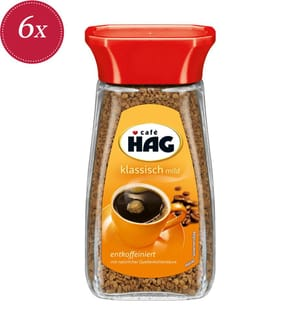 Café Hag Instant - 6x 100g