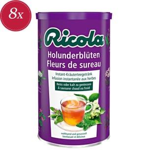 Ricola Holunderblüten Tee Instant - 8x 200g