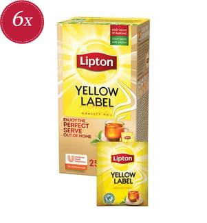 Lipton Yellow Label - 6x 25 Teebeutel