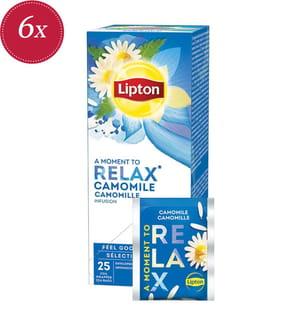 Lipton Relax Kamille - 6x 25 Teebeutel