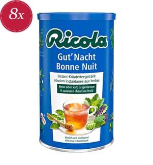 Ricola Gut'Nacht-Tee Instant - 8x 200 g