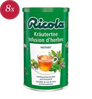 Ricola Kräuter Tee Instant - 8x 200g