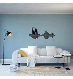 Wanddekoration Music - 72 x 34 cm