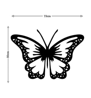 Wanddekoration Butterfly - 73 x 50 cm
