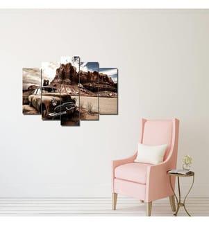 Quintychon Wandbild - 19 x 60 cm