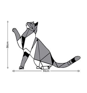 Wanddekoration Cat - 51 x 36 cm