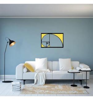 Wanddekoration Golden Ratios - 56 x 35 cm