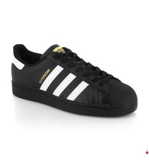 Sneakers Superstar - Schwarz und Weiss