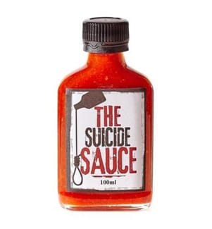 The Suicide Sauce - 100 ml