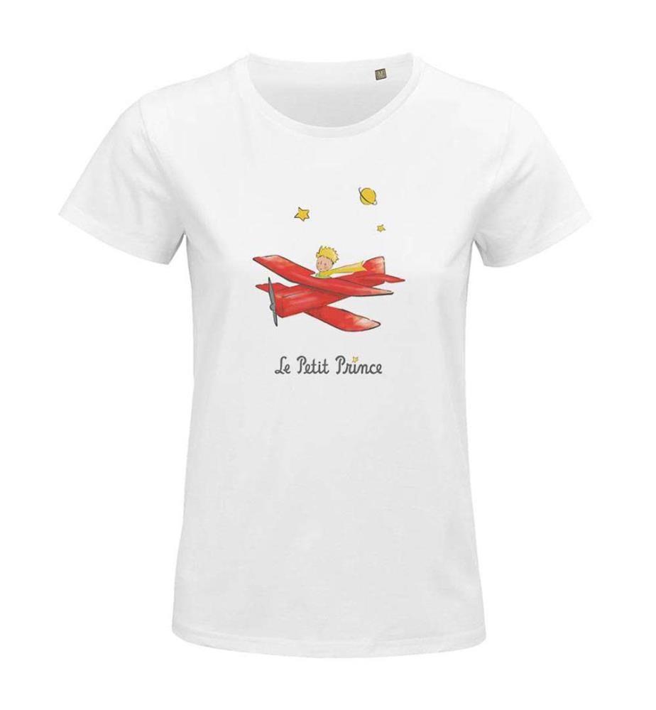 """Weisses T-Shirt """" L'aviateur """""""