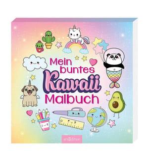 Mein buntes Kawaii-Malbuch
