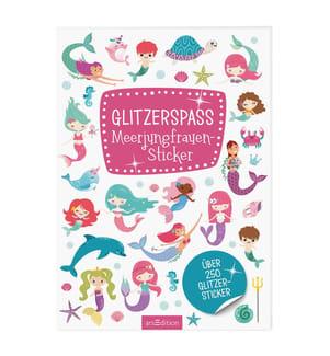 Glitzerspass Meerjungfrauen-Sticker