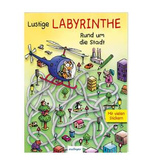 Lustige Labyrinthe Rund um die Stadt