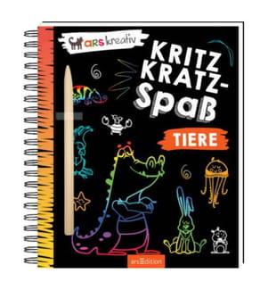 Kritzkratz-Spass Tiere, m. Sift