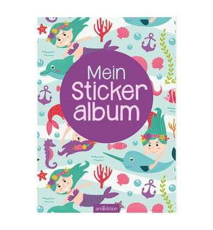 Mein Stickeralbum - Meerjungfrauen