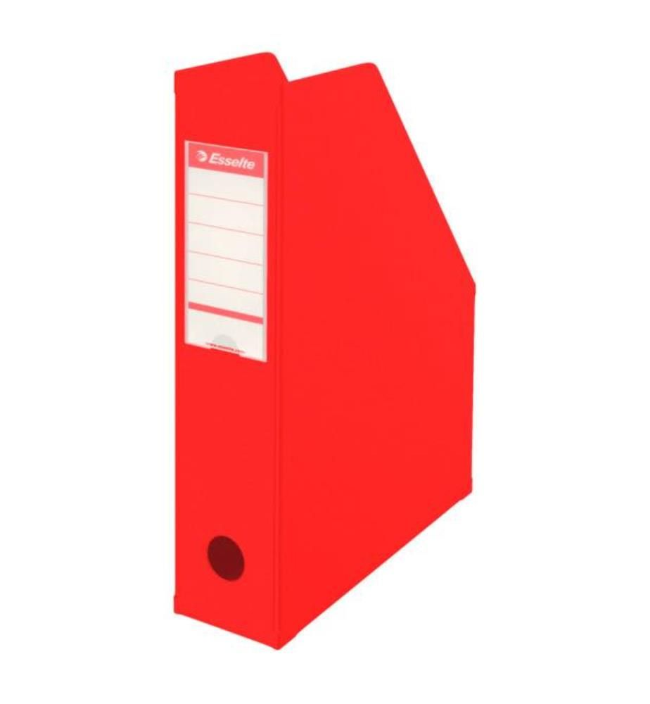 ESSELTE - Zeitschriftenbox 23,4 x 7 x 31,5cm, rot
