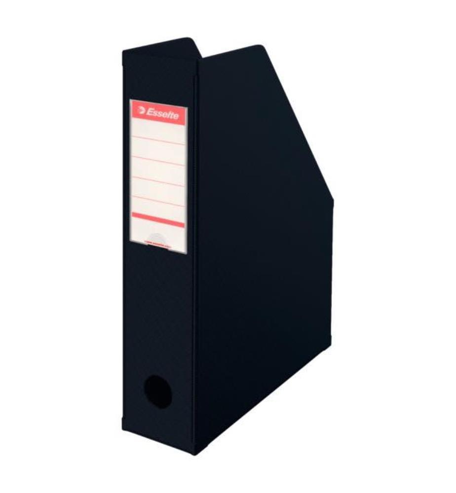 ESSELTE - Zeitschriftenbox 23,4 x 7 x 31,5cm, schwarz