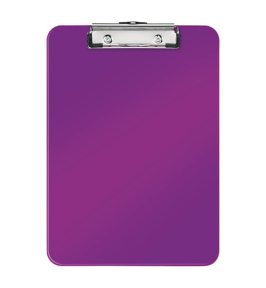 LEITZ - Klemmbrett WOW PS A4 39710062 violet 80 Blatt
