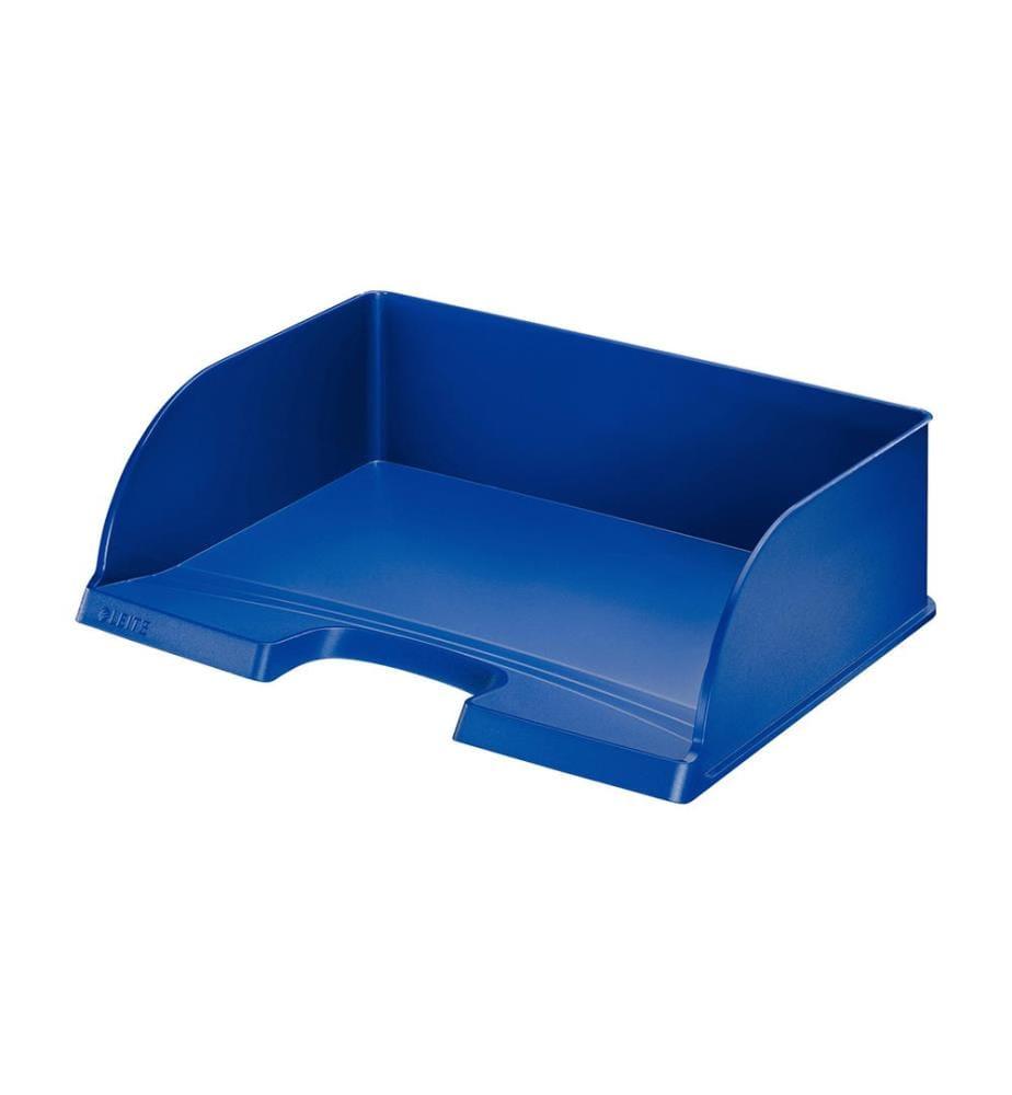 LEITZ - Briefkorb Jumbo Plus quer 52190035 blau