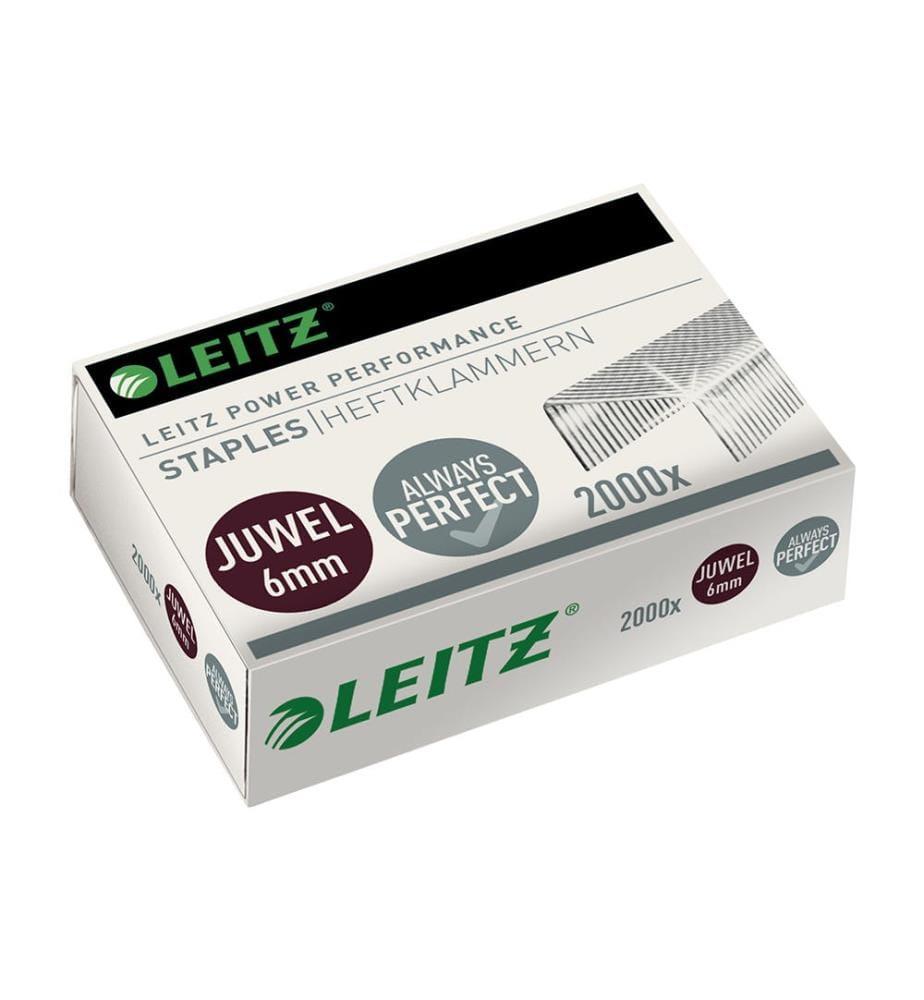 LEITZ - Heftklammern Juwel 6mm 56420000 2000 Stück