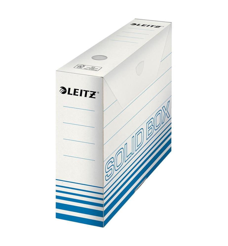 LEITZ - Archiv-Box Solid A4 61270030 blau 80x257x330mm
