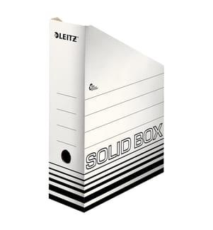LEITZ - Archiv-Stehsammler Solid A4 46070001 weiss