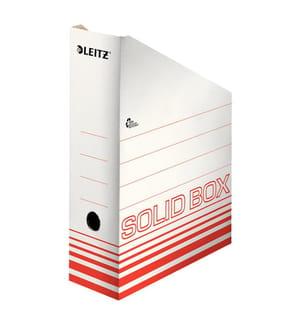 LEITZ - Archiv-Stehsammler Solid A4 46070020 rot