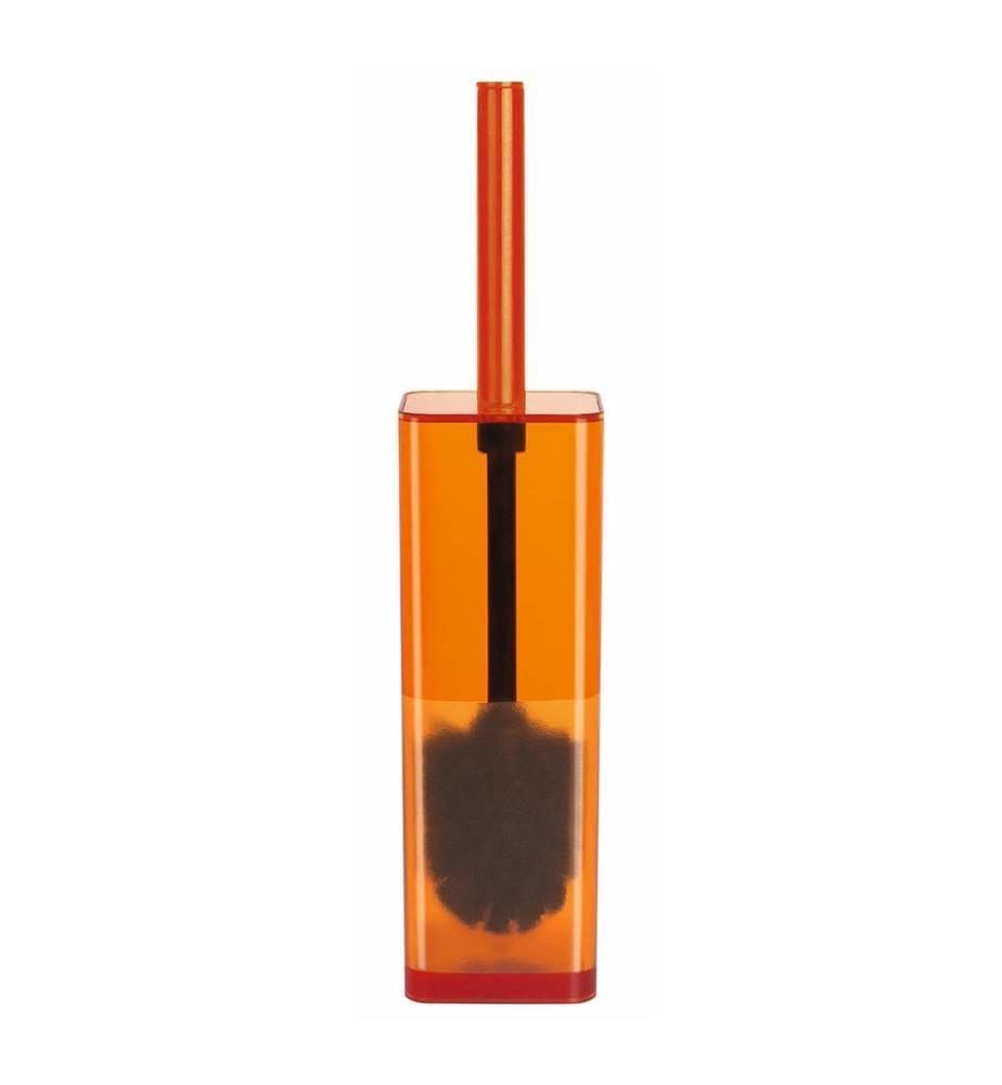 SPIRELLA - WC-Bürste Cubo clear - Orange