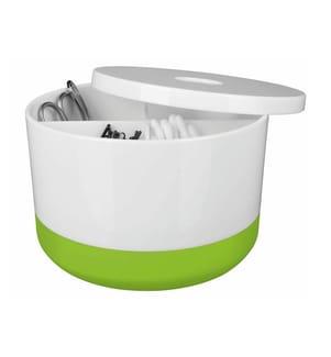 SPIRELLA - Aufbewahrungsbox Moji - Weiss und Grün