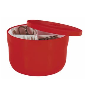 SPIRELLA - Aufbewahrungsbox Cocco - Rot