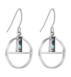 Ohrringe FIDGY - Silber
