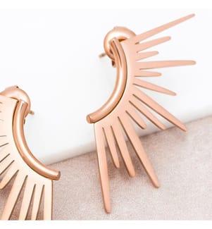 Ohrringe SUNRISE - Rosé