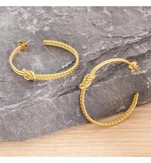 Ohrringe ROPE - Gold