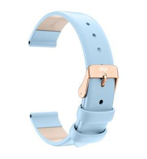 Leder-Armband Elys - Blau
