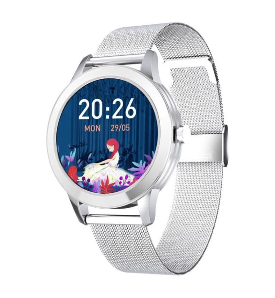 EKO-Classica Connected Watch - Silber (Edelstahlarmband)