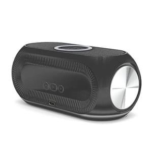 Réveil LED avec rechargement sans fil 15W - Modèle Elite - Noir