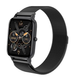 Eko-Yosemite Connected Watch Schwarz (Milanese-Armband)